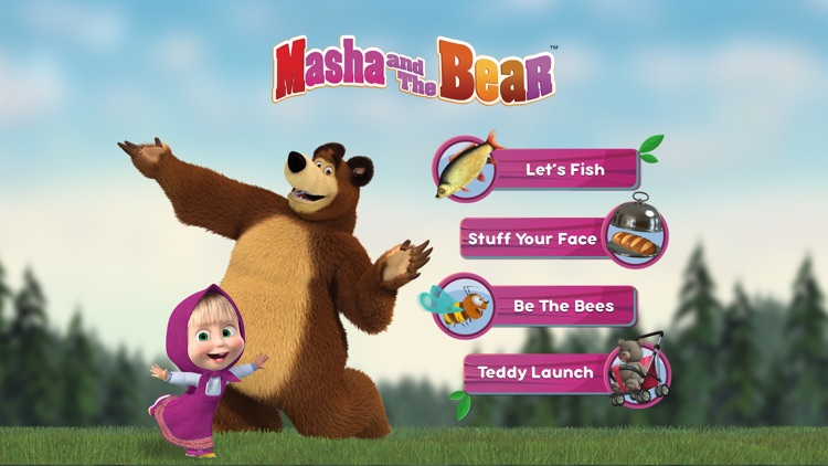 Masha and the Bear Games screenshot-0