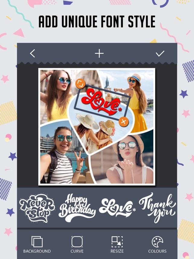 Foto Collage,Hacer HD imágenes en App Store