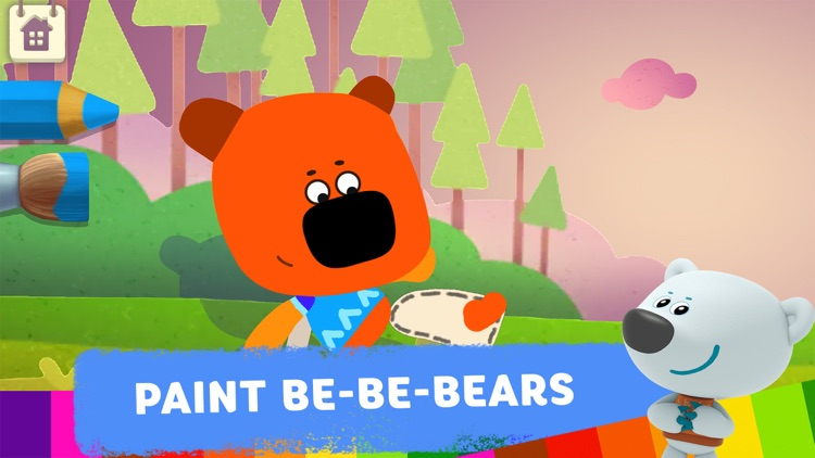 Be-be-bears: Painting for kids screenshot-0