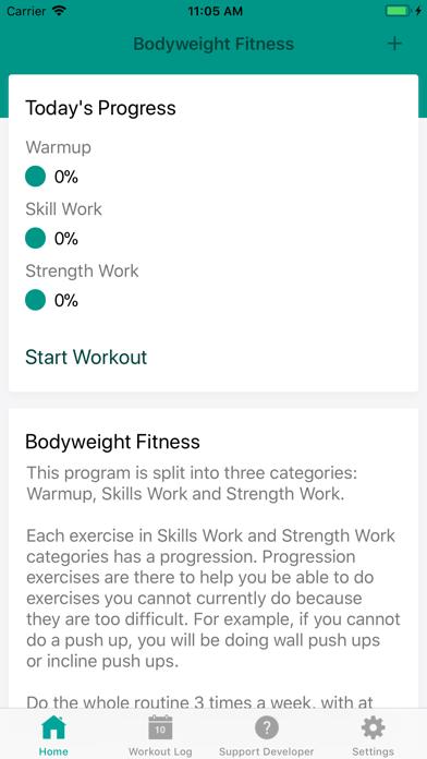 Bodyweight Fitnessのおすすめ画像2