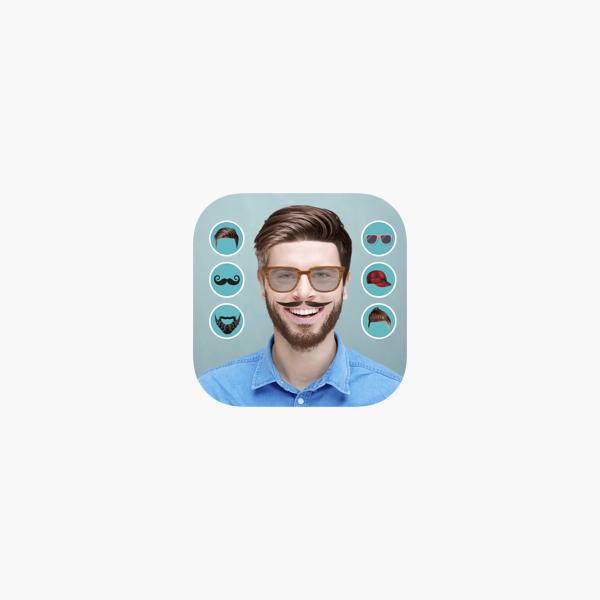 Men Hair Style Mustache Photo Editor On The App Store