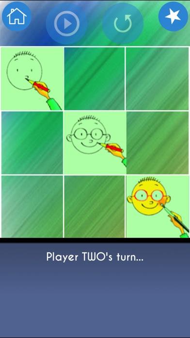 3 in a Line Tic Tac Toe Game Screenshot 1
