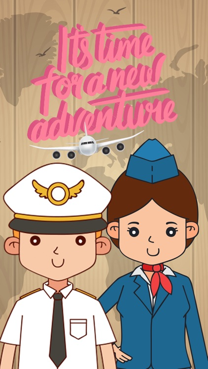 Flight Attendant Crew Stickers