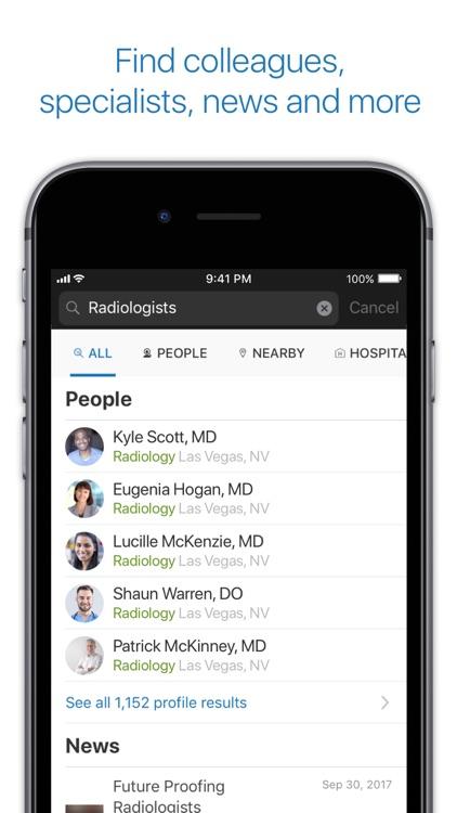 Doximity - Medical Network screenshot-0