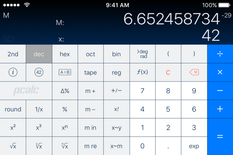 PCalc - The Best Calculator screenshot 2