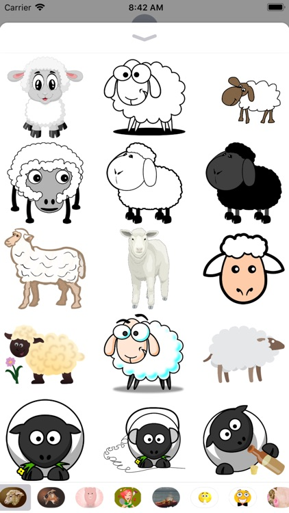 Sheep Stickers - 2018