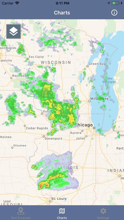 National Weather Forecast Data screenshot-8