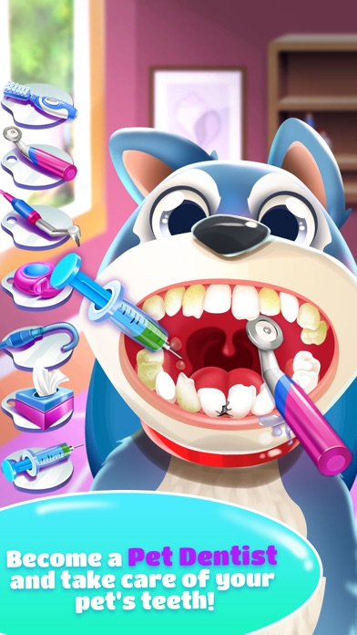 Naughty fun dentist office