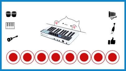 Screenshot for Bongo Cat Musical Instruments in United States App Store