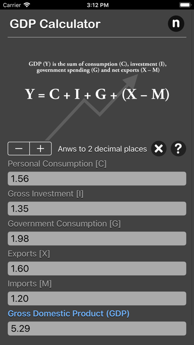 点击获取GDP Calculator
