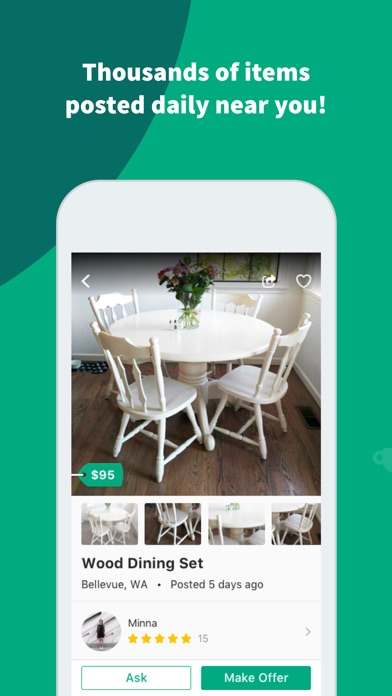 OfferUp - Buy. Sell. Simple. app image