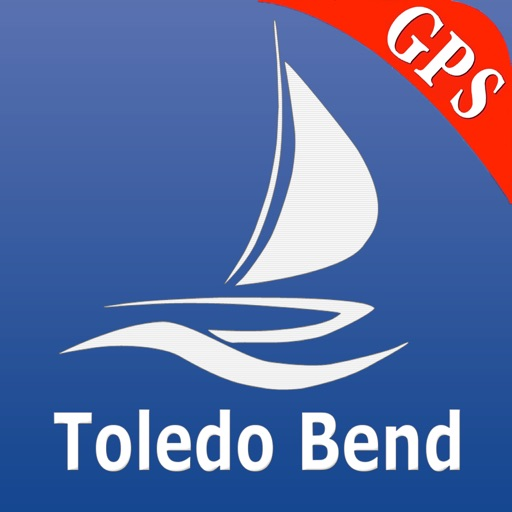 Toledo Bend GPS Nautical Chart