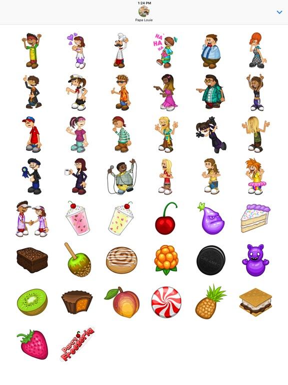 Papa's Freezeria Stickers screenshot 4