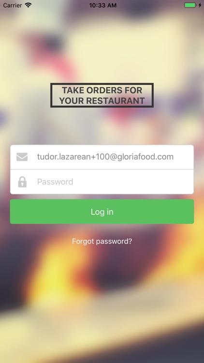 Restaurant Order Taking App by S C  GLOBALFOOD TECH SRL