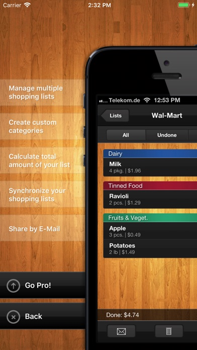 Download ShopList (Grocery List) for Pc