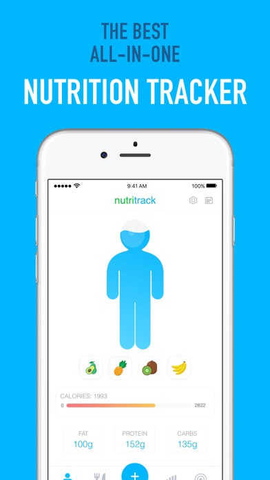 Nutritrack - Nutrition Tracker screenshot 2