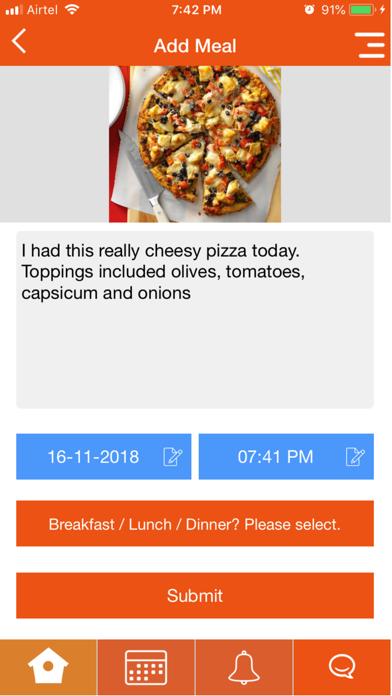 Our Dietitian screenshot three