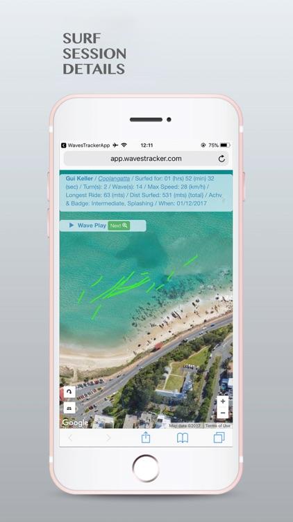 WavesTracker - Surf Track App