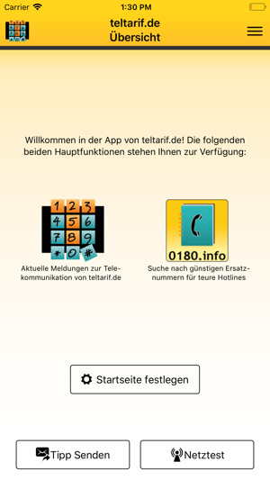 teltarif.de Screenshot