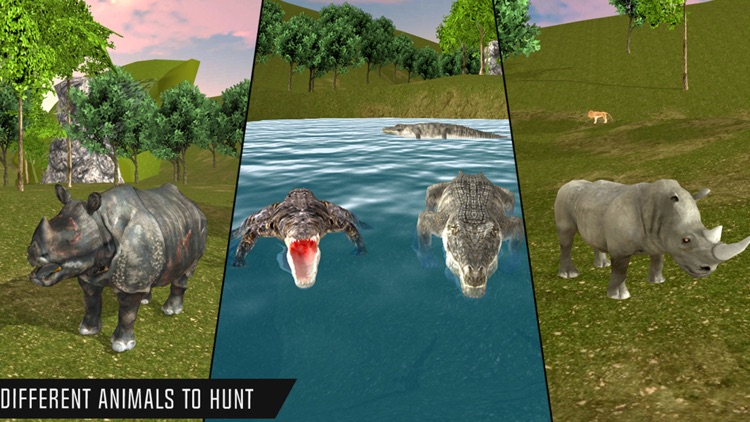 Safari Animal Hunt Simulator screenshot-5