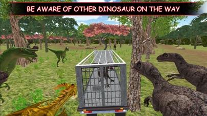 Dino Truck :Angry Dino Capture screenshot one