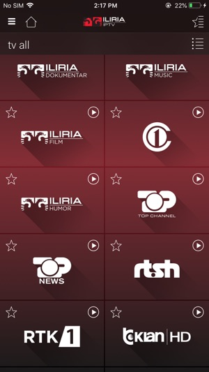 IPTV ILIRIA on the App Store