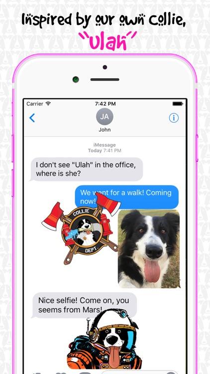 CollieMoji - Original Emojis screenshot-4