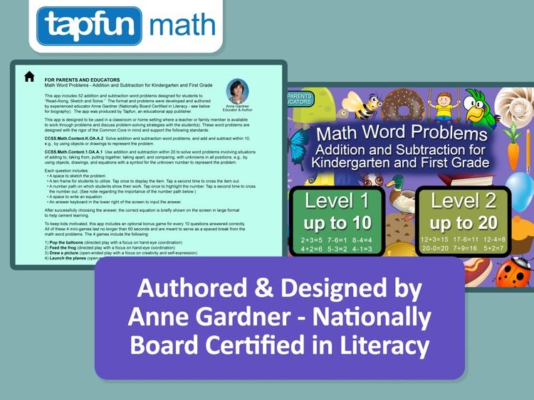 Math Word Problems for K-1 screenshot-3