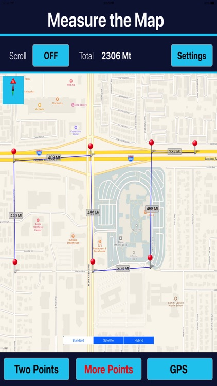Measure Exact Distances on map screenshot-3