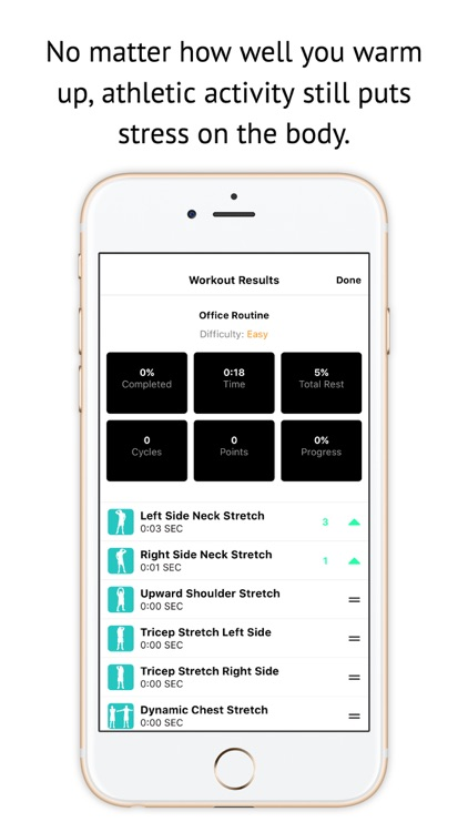 Stretching & Warm Up Routines screenshot-4