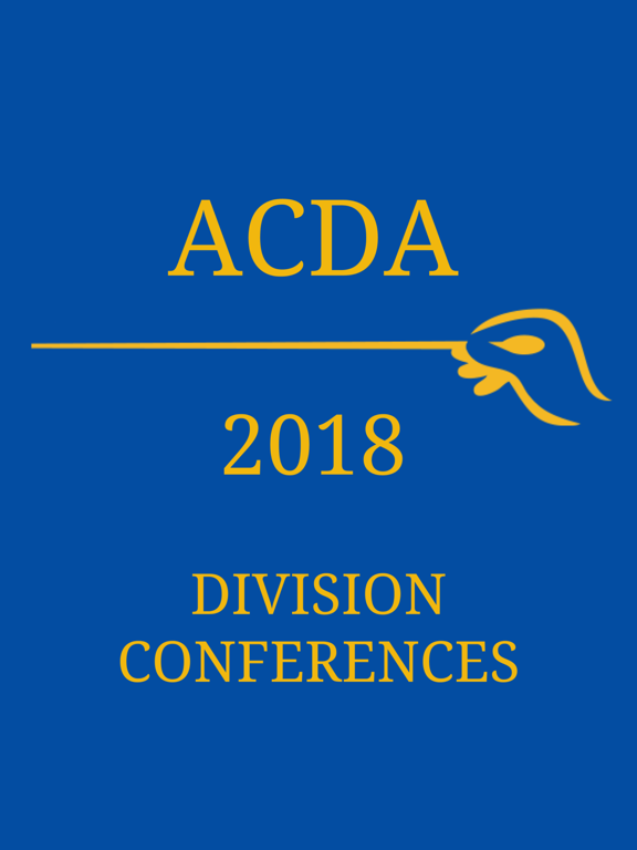 2018 ACDA Division Conferences screenshot 3