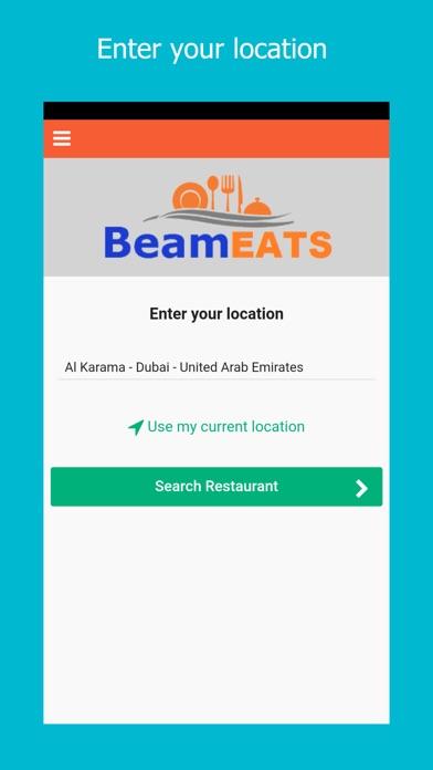 Beam EATS - Food Delivery screenshot