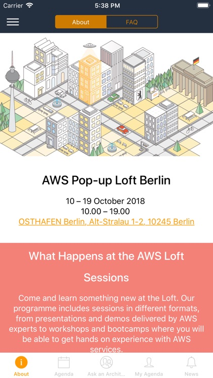 AWS Pop-up Loft Berlin 2018 by teraone GmbH