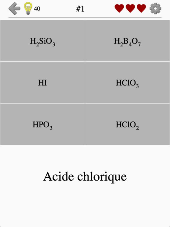 Acides et ions inorganiques