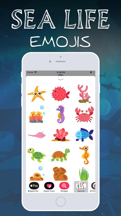 Sea Life Emojis screenshot three