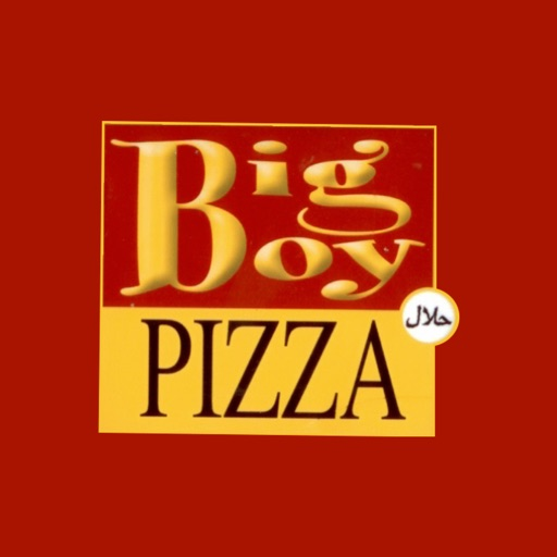 The Big Boy Pizza
