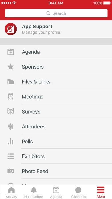 Gradient Events screenshot 2