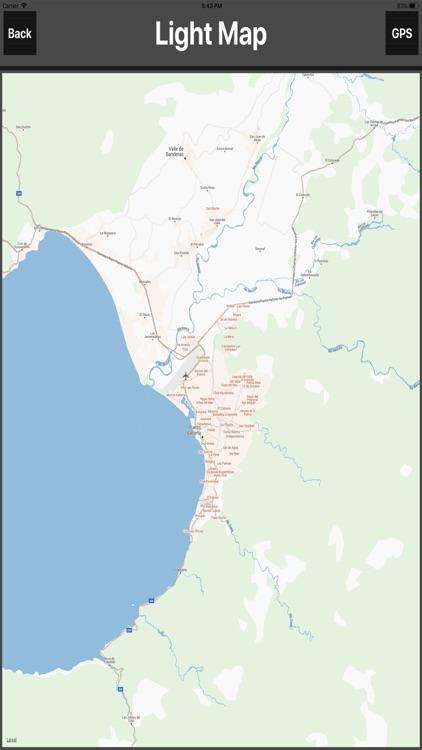 Puerto Vallarta Travel Map