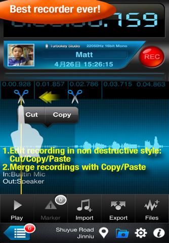 Recorder Plus - náhled