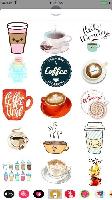 download Coffee Lovers Stickers apps 0