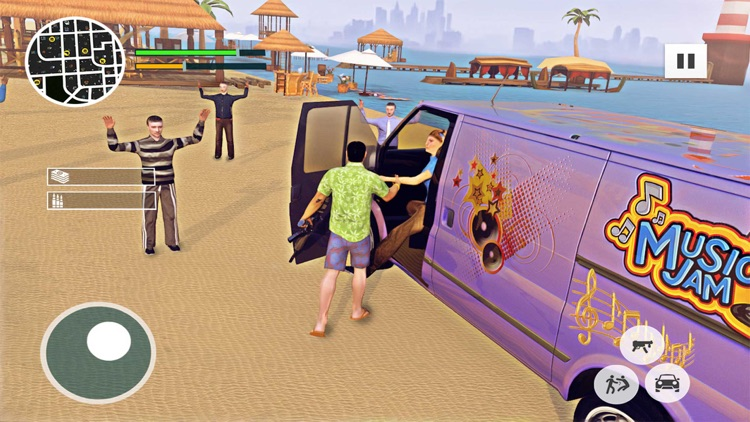 Gangster City Miami Crime Auto screenshot-4