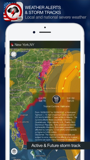 Weather Alert Map USA on the App Store