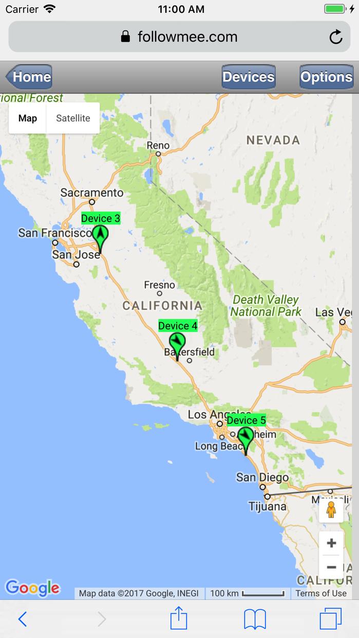GPS Tracker by FollowMee Screenshot