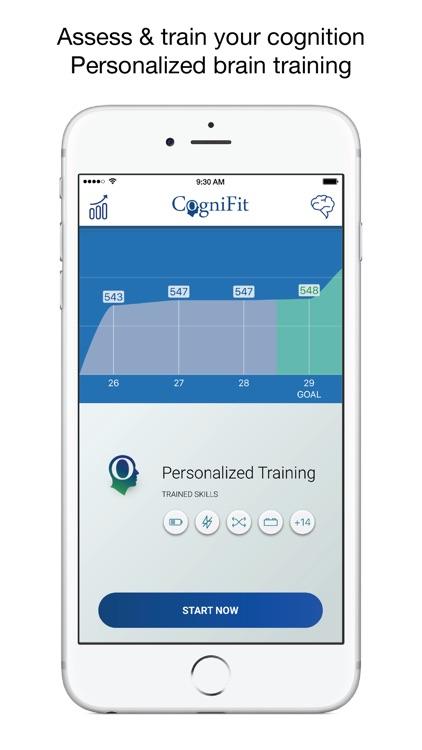 CogniFit Brain Test & Training
