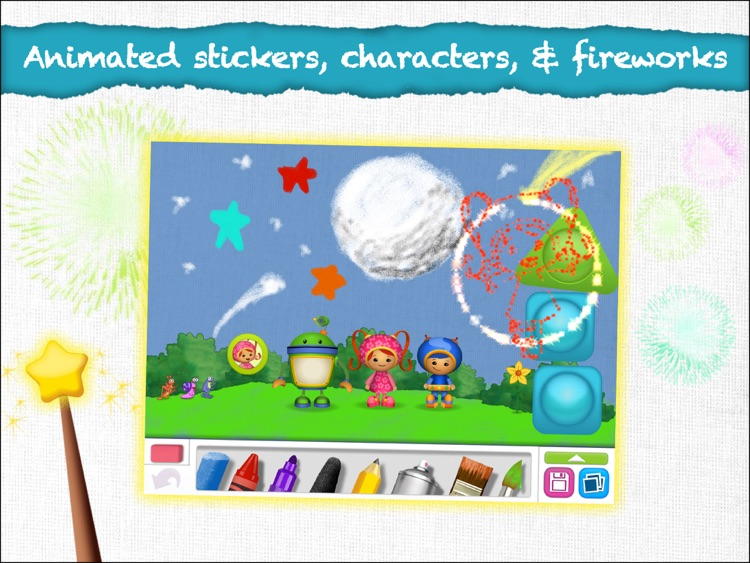 Nick Jr Draw & Play HD screenshot-1