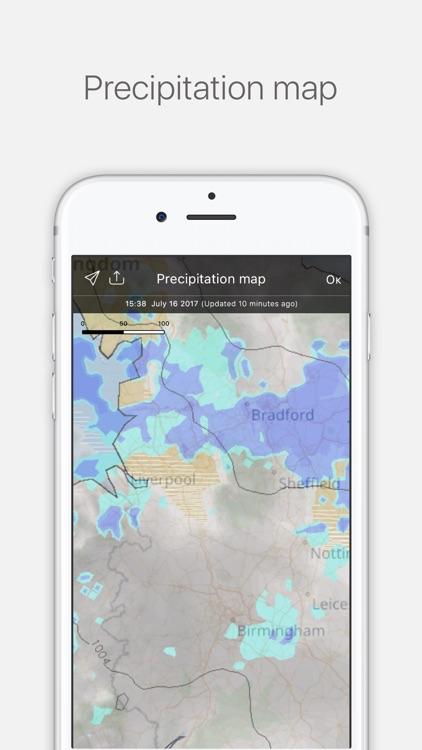 Weather Radar Pro - Live Weather Forecast & Alerts screenshot-4
