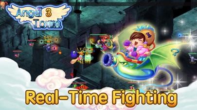 天使の町 3 - 放置系RPGゲーム ScreenShot1