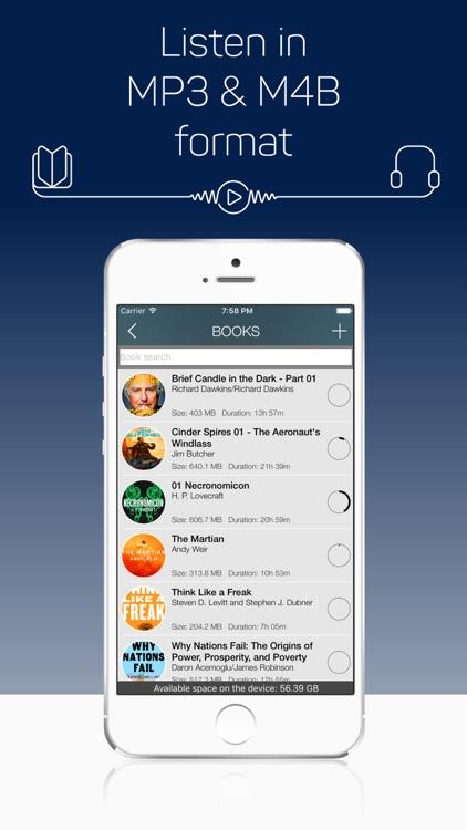 MP3 Audiobook Player Pro screenshot-4