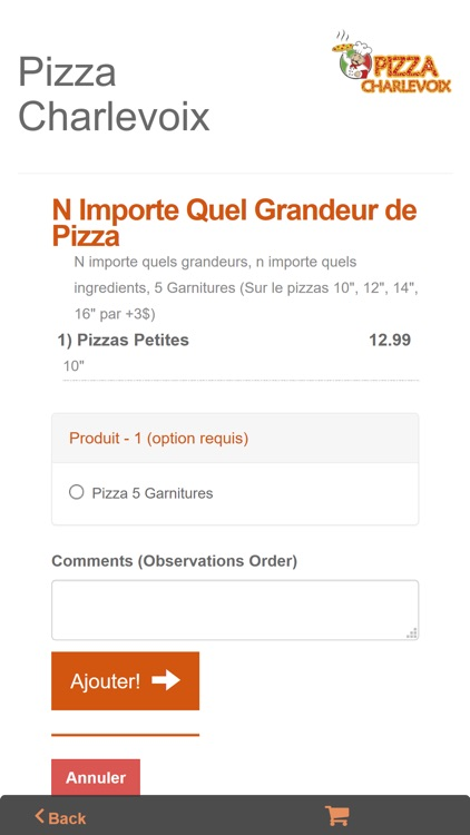 Pizza Charlevoix Montreal screenshot-3