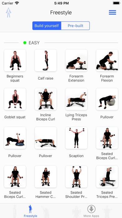 Virtual Trainer ダンベルのおすすめ画像2